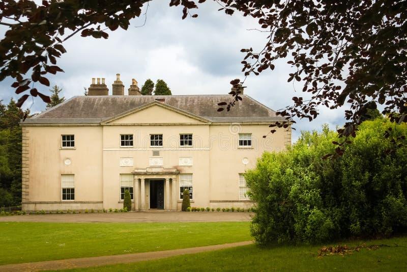 Дом Avondale Avondale Wicklow Ирландия стоковое изображение