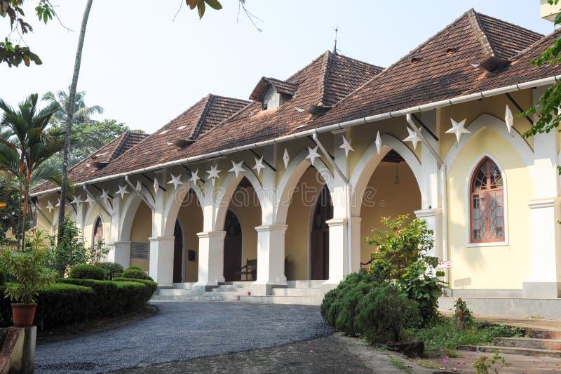 Дом Bisop на форте Cochin стоковое изображение rf