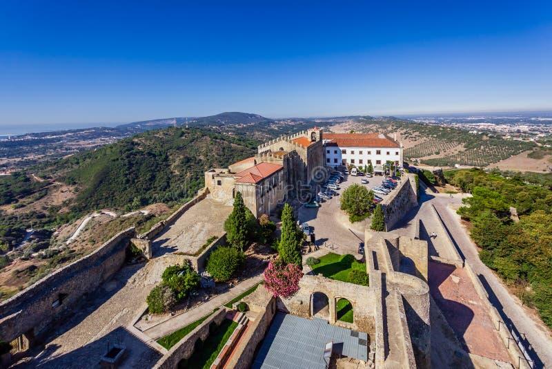 Дом Capelo, историческая гостиница и руины церков Santa Maria стоковое фото