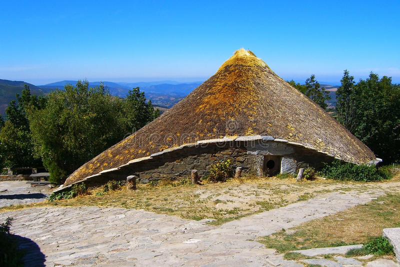 дом celta стоковые фотографии rf