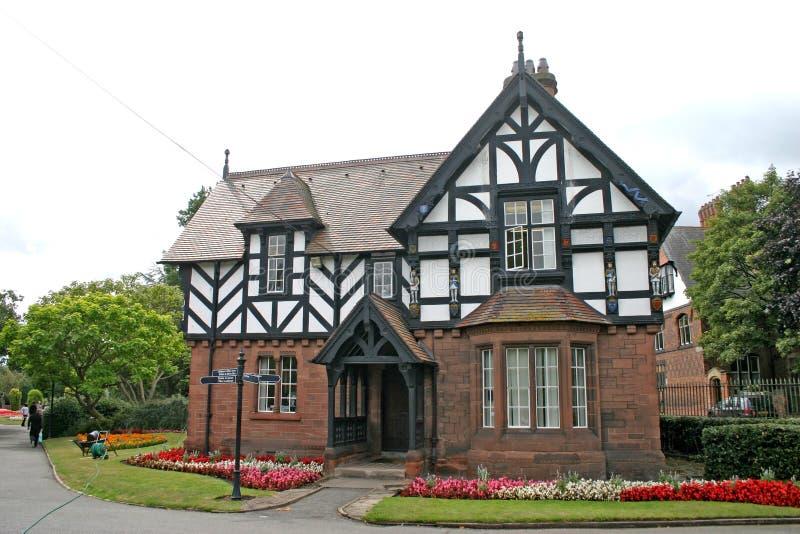 дом chester старая стоковое изображение