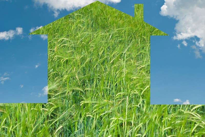 Download дом Eco принципиальной схемы Стоковое Изображение - изображение насчитывающей concepts, задолженность: 18388403