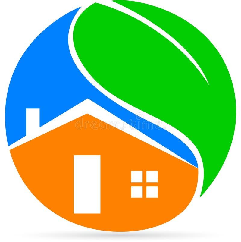 Дом Eco бесплатная иллюстрация