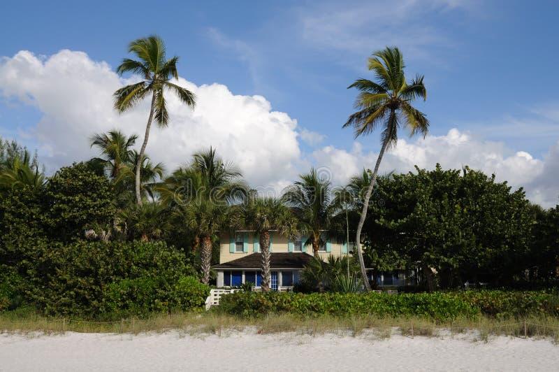 дом florida пляжа стоковые изображения