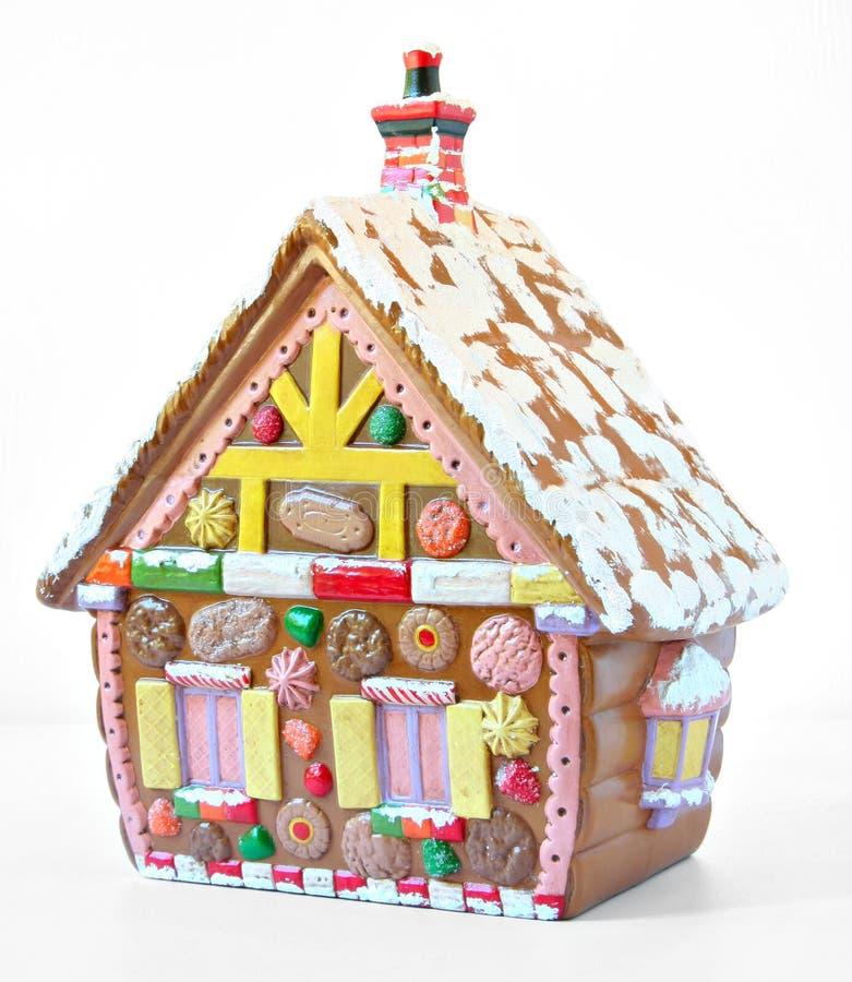 дом gingerbread стоковая фотография rf