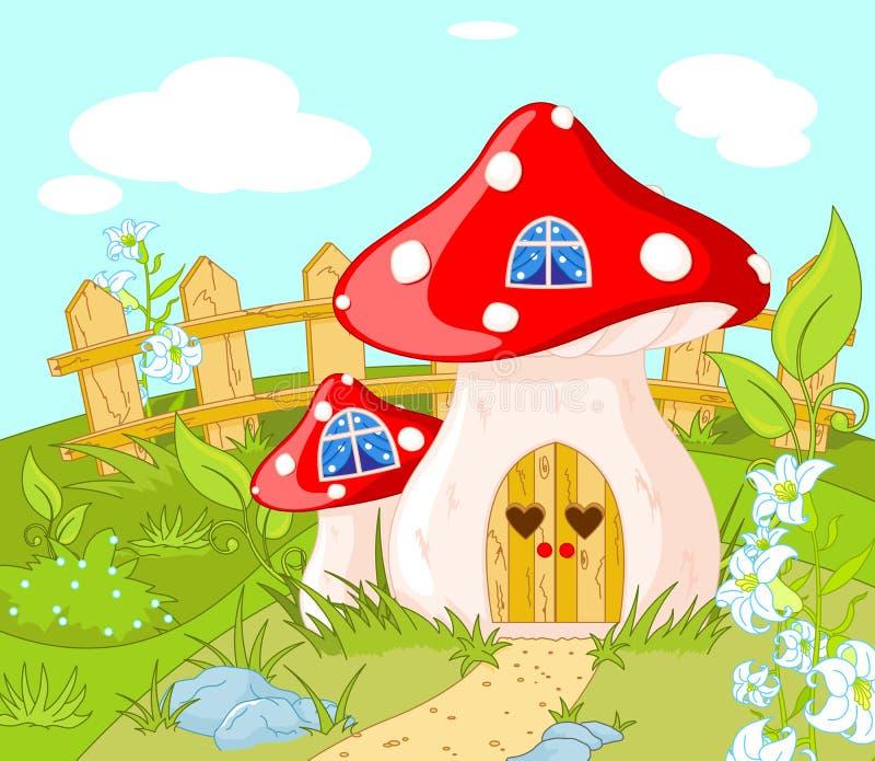 Дом Gnome иллюстрация вектора