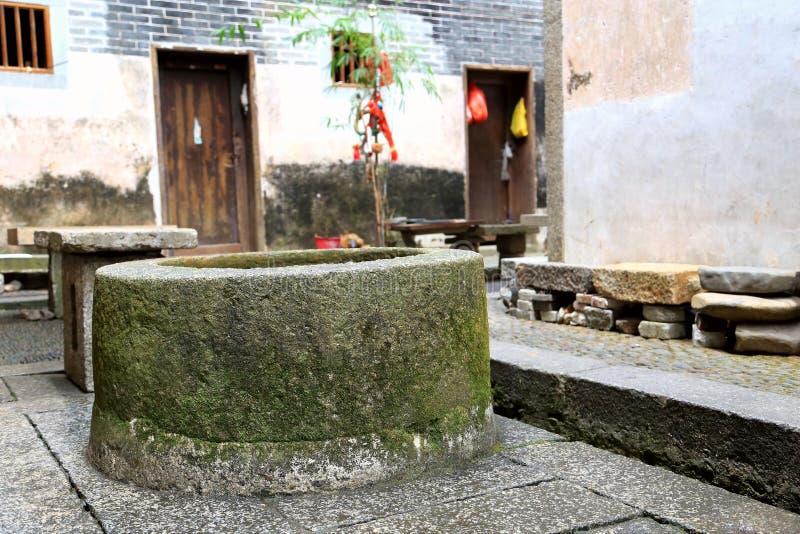 Дом Hakka Mantang закрытый стоковая фотография rf