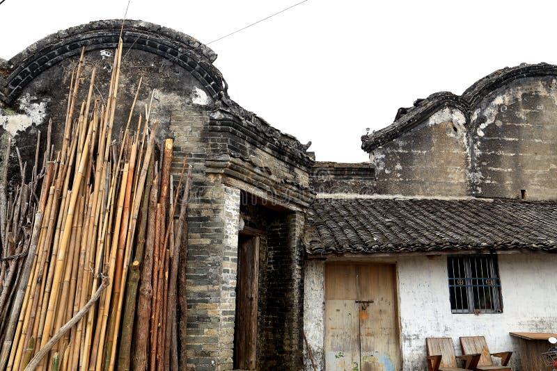 Дом Hakka Mantang закрытый стоковые изображения rf
