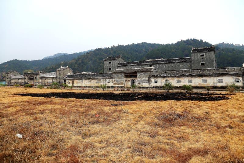 Дом Hakka Mantang закрытый стоковые изображения