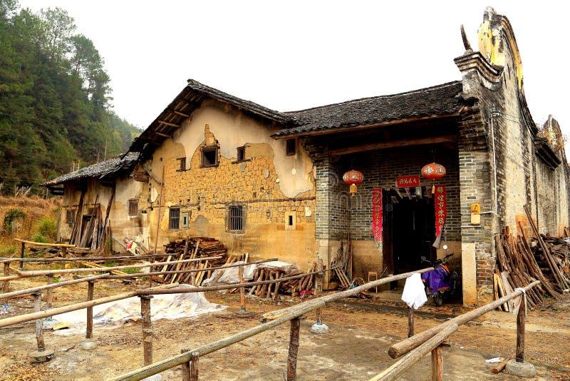 Дом Hakka Mantang закрытый стоковые фото