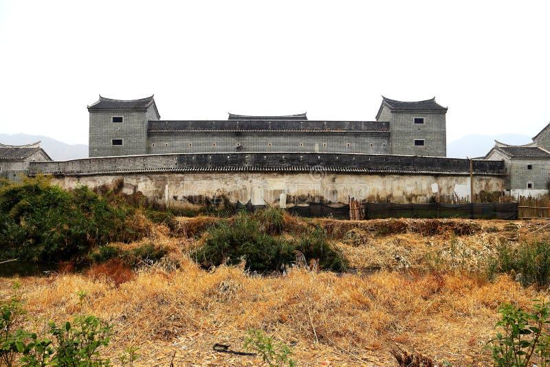 Дом Hakka Mantang закрытый стоковое фото