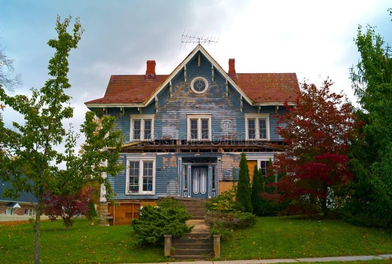 Дом Halloween стоковое фото