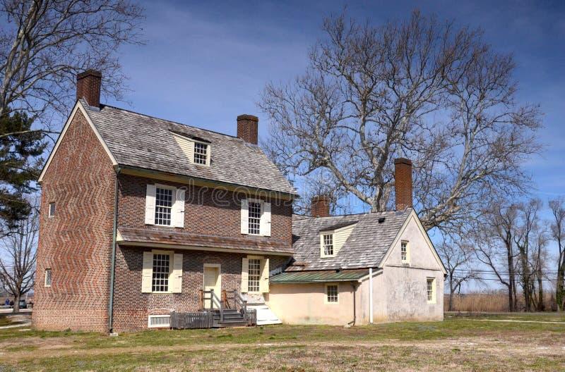 Дом Hancock стоковая фотография rf