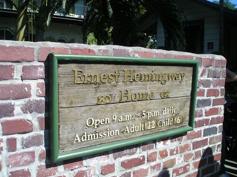 Дом Hemingway стоковые изображения