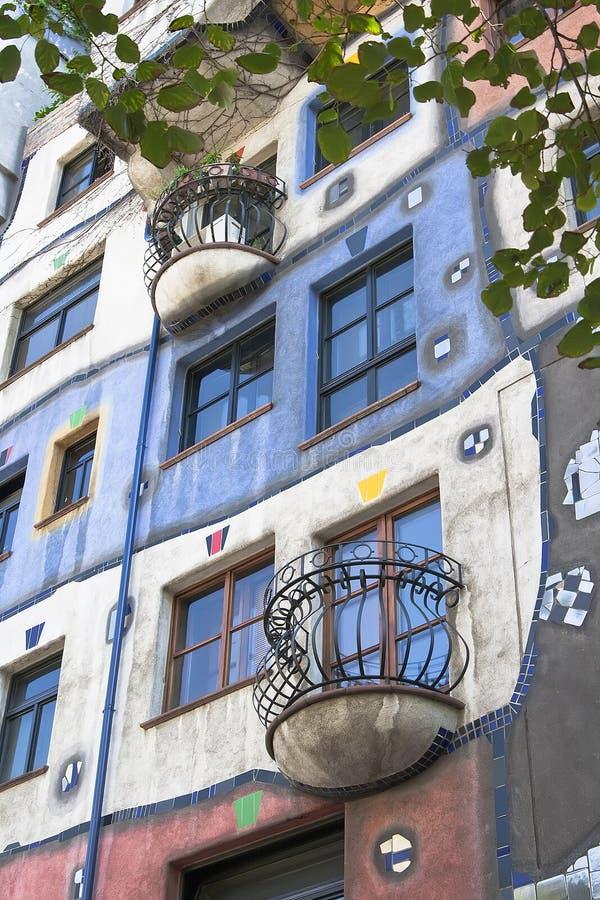 Дом Hundertwasser стоковое изображение rf