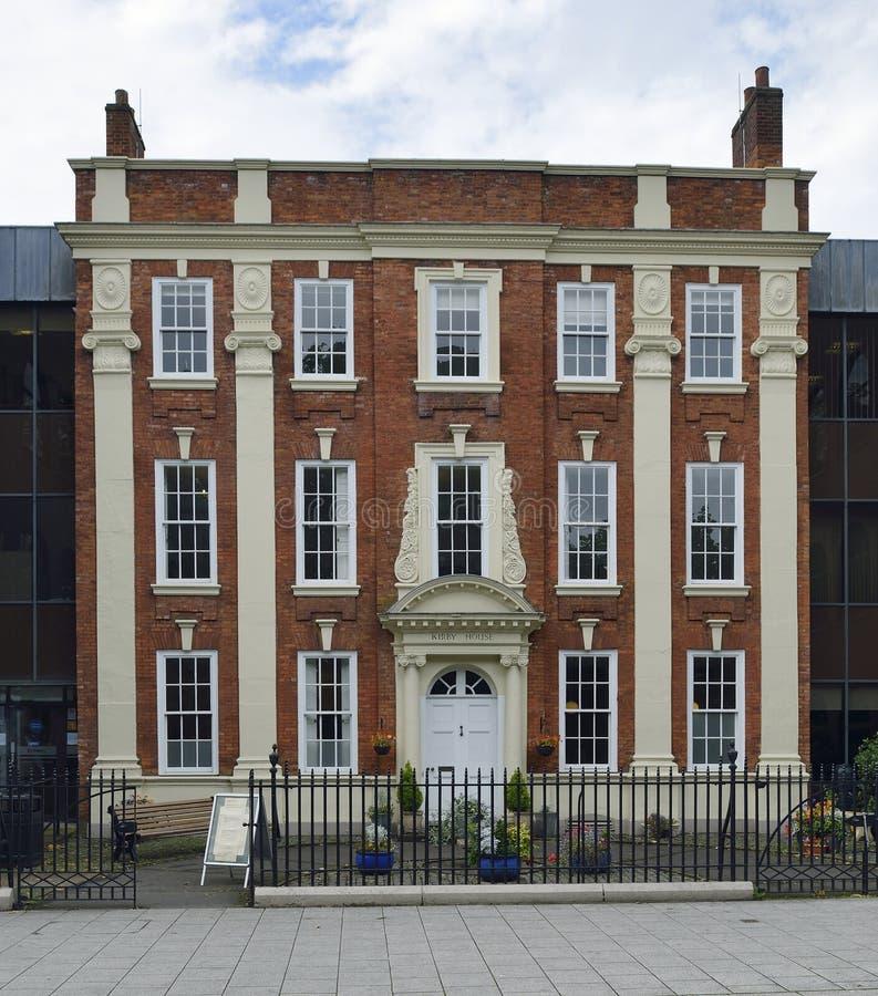 Дом Kirby, Ковентри стоковое изображение rf