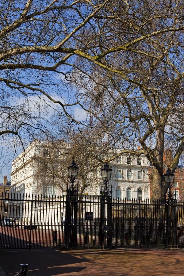 дом london clarence стоковое фото rf