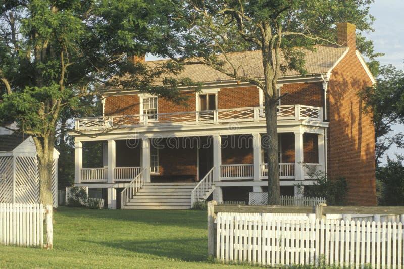 Дом Mclean стоковое изображение