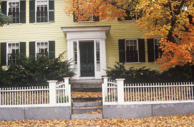 Дом New England стоковое фото rf