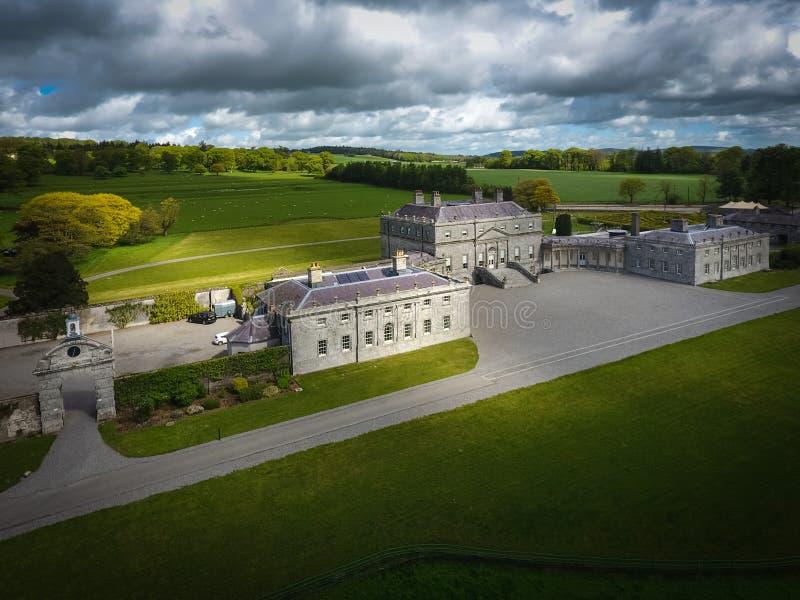 Дом Russborough Wicklow Ирландия стоковое изображение rf