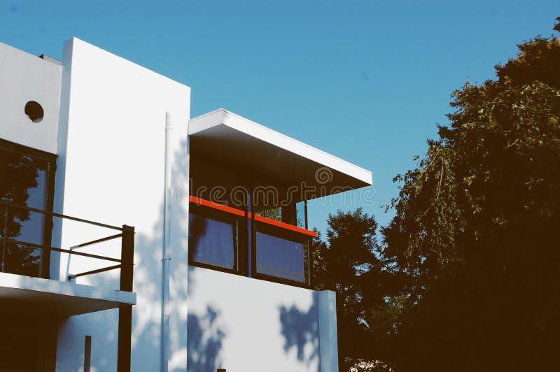 Дом Schroder стоковые изображения