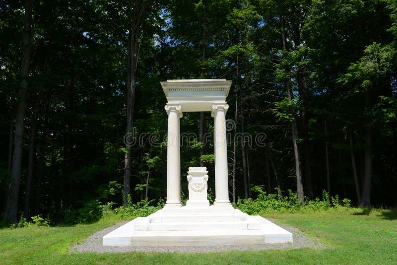 Дом St Gaudens, корнуоллский язык, Нью-Гэмпшир стоковое фото rf