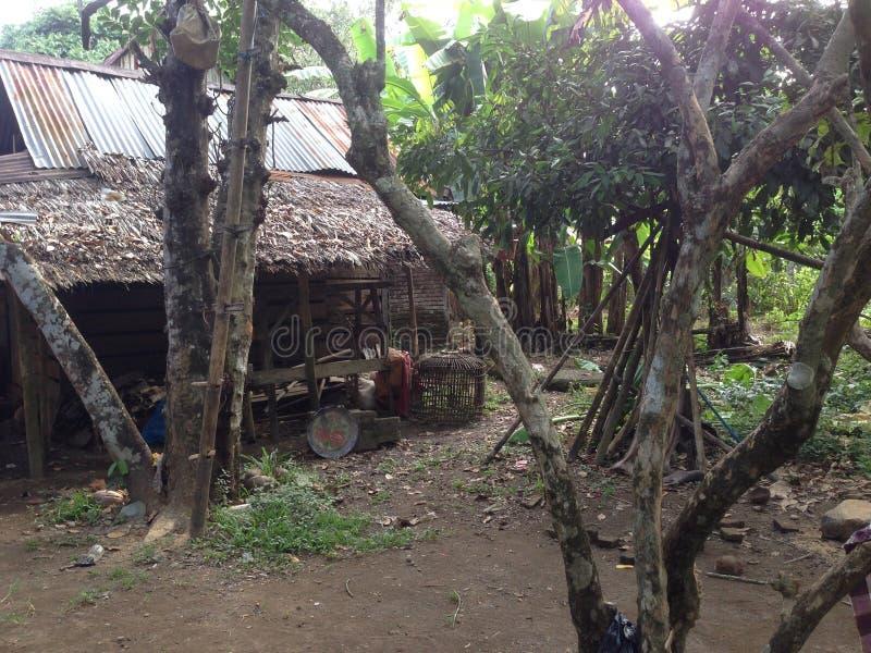 Дом Tradisional от Индонезии стоковое фото