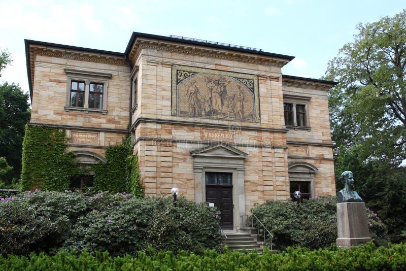 Дом Wahnfried в Bayreuth стоковое фото