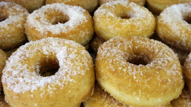 Донут и сахар стоковое изображение rf