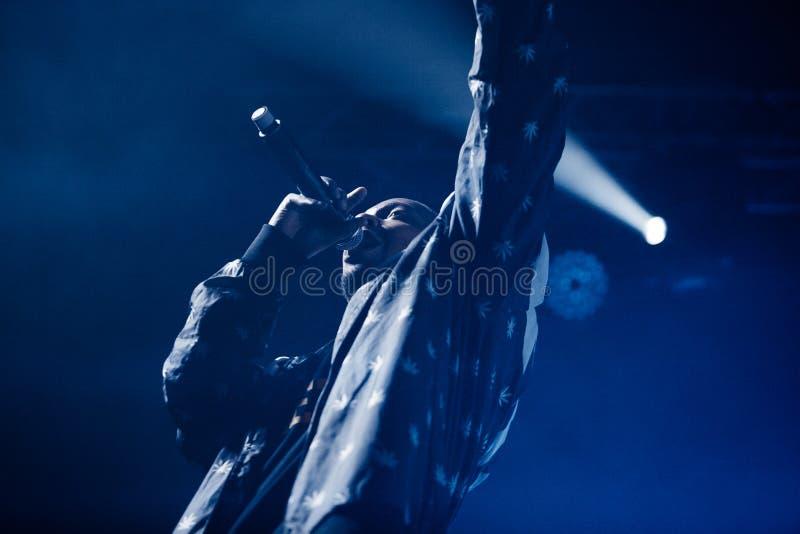 Допинг d O Концерт d в Москве стоковое изображение
