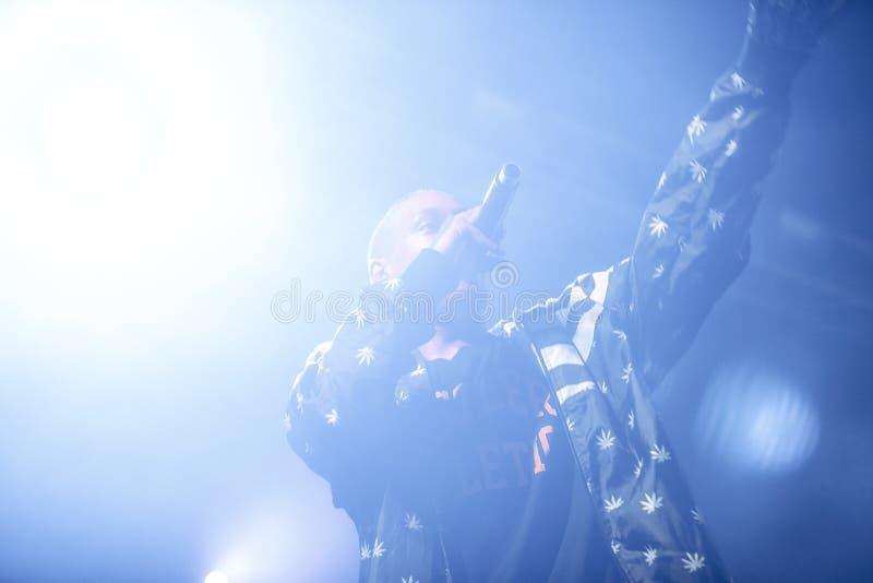 Допинг d O Концерт d в Москве стоковое изображение rf