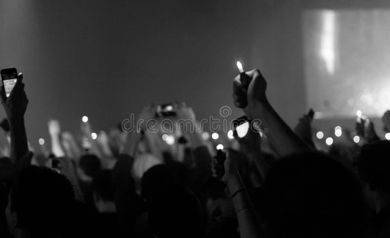 Допинг d O Концерт d в Москве стоковые изображения