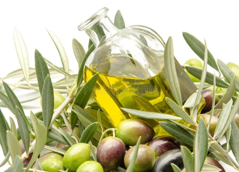 Дополнительное виргинское оливковое масло стоковая фотография rf