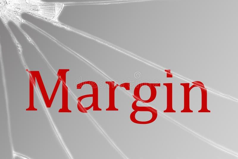 Допустимый предел текста на сломленном стекле тариф диаграммы кризиса понижаясь финансовохозяйственный стоковые изображения rf