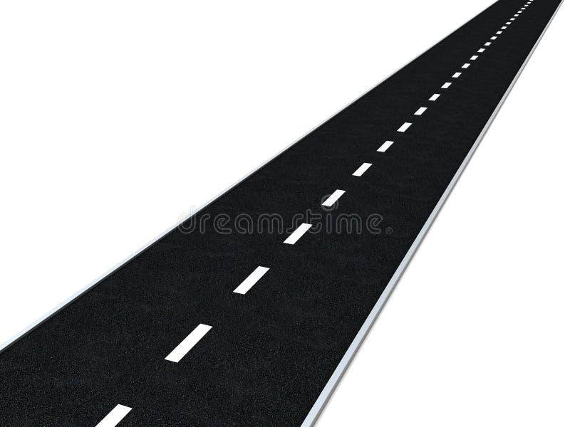 дорога асфальта бесплатная иллюстрация