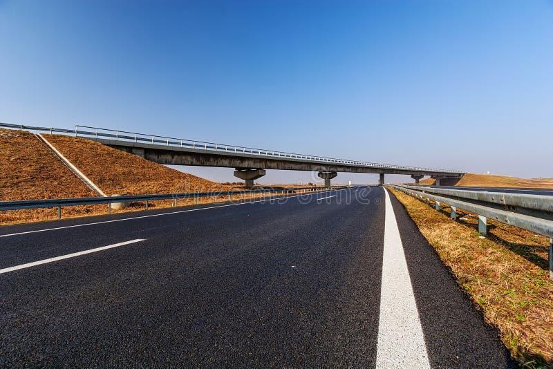 Дорога асфальта стоковая фотография rf