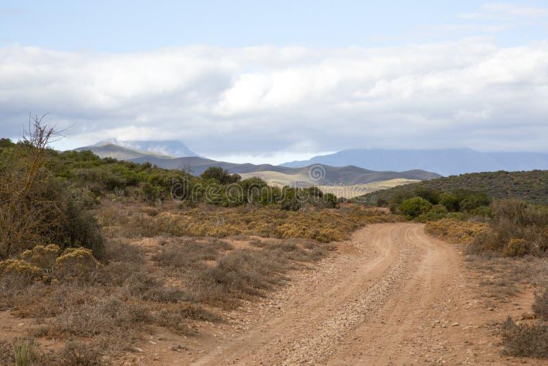 Дорога Африка стоковое изображение