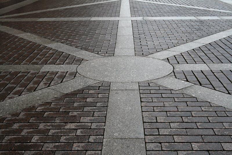 дорога булыжника стоковое изображение