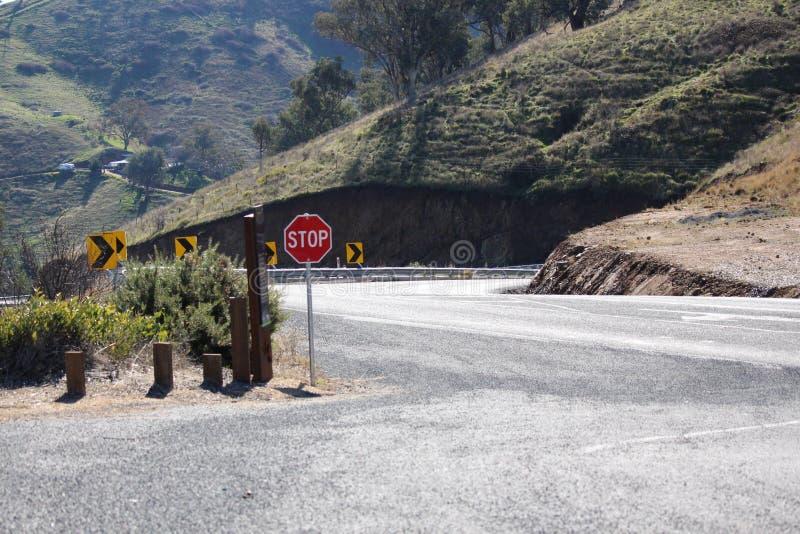Дорога бдительности Bethanga стоковые изображения rf