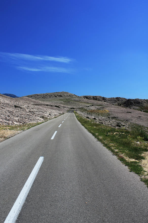 Дорога верно природа стоковое фото rf