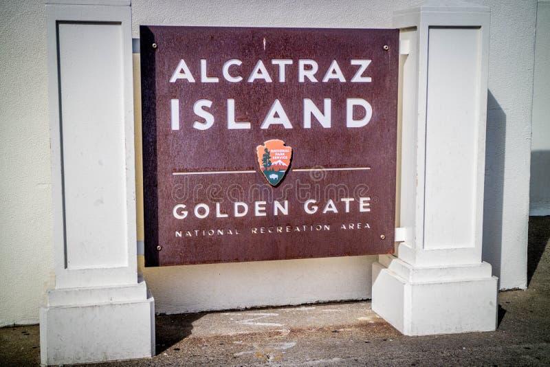 Дорога входа идя к Алькатрасу стоковое изображение