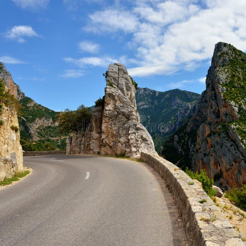 Дорога в горе стоковое фото rf