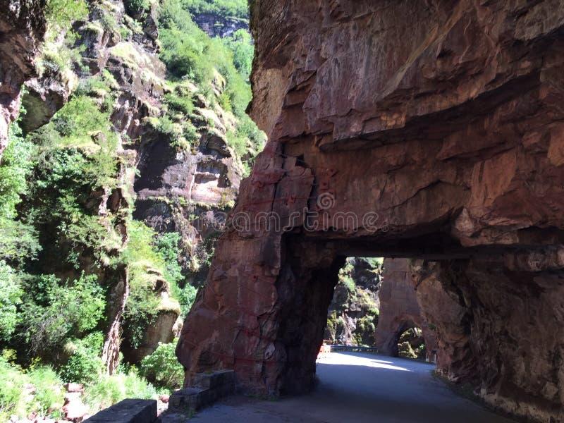 Дорога в каньоне Франции стоковые фото