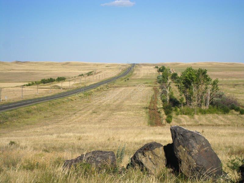 Дорога в рае стоковые фотографии rf