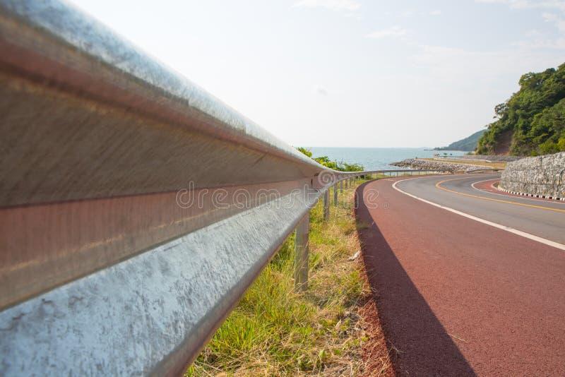 Дорога в chantaburi, Таиланде стоковое фото rf