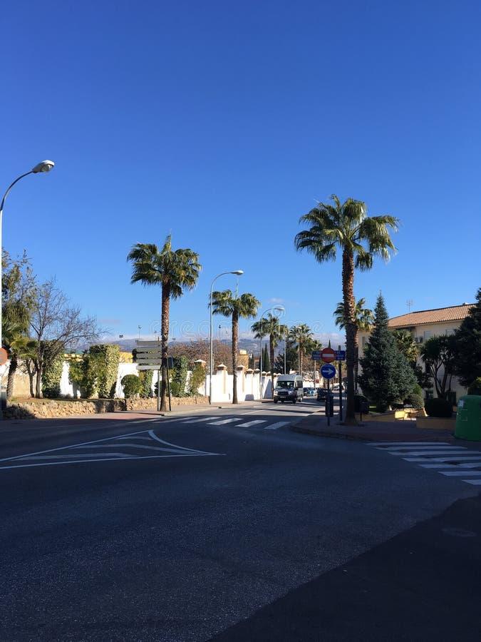 Дорога в Ronda стоковое изображение