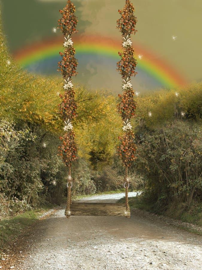 дорога гамака иллюстрация штока
