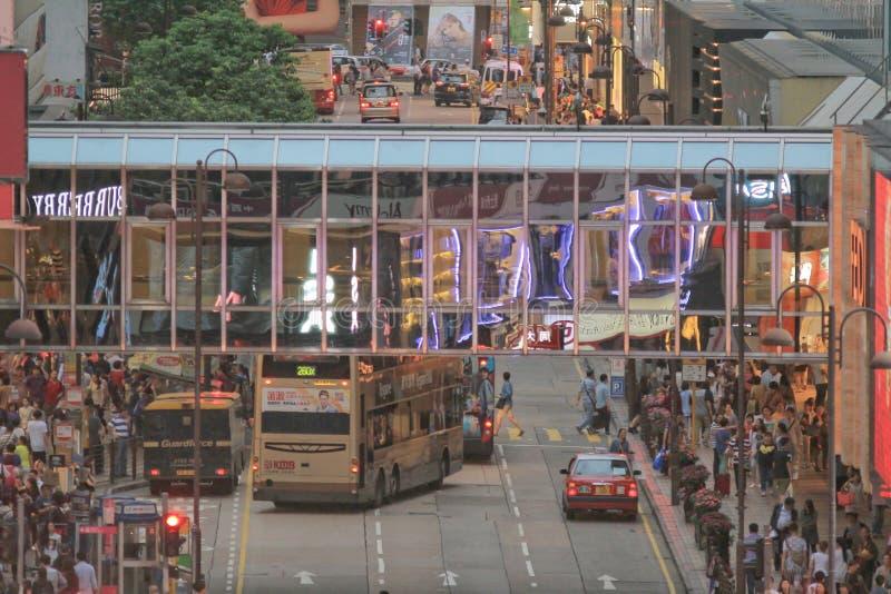 Дорога Гонконг 4 кантона может 2014 стоковое изображение
