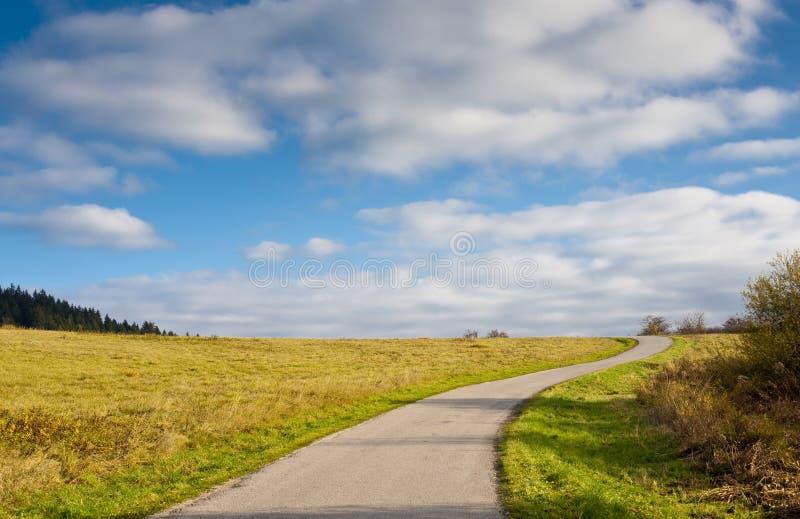 дорога горизонта стоковое фото