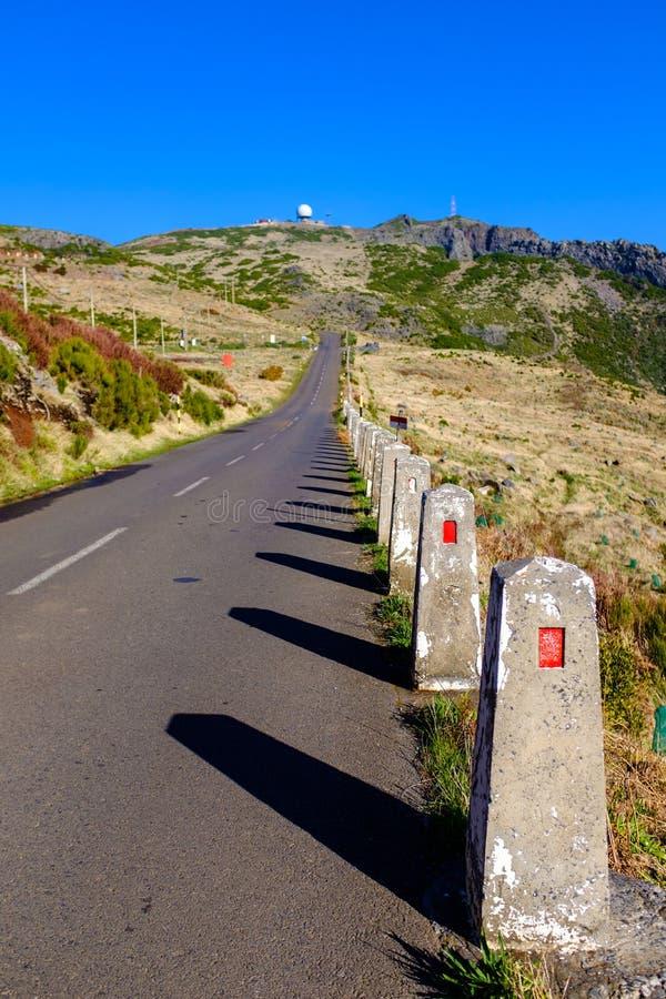 Дорога горы в Мадейре стоковые фотографии rf